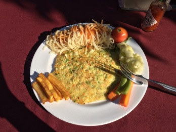 Lunch lakeside Pokhara