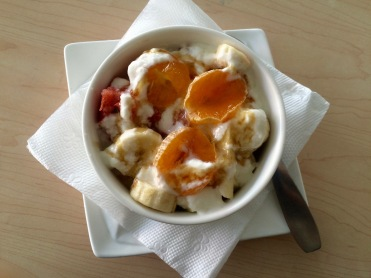 Yoga home breakfast favorites