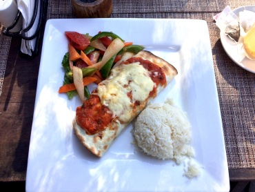 Nepali vegetable enchilada